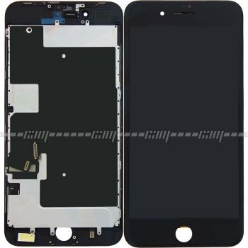 Apple iPhone 8 PLUS LCD+Digitizer + Metal Plate Complete, OEM Replacement Glass - Black - LCD